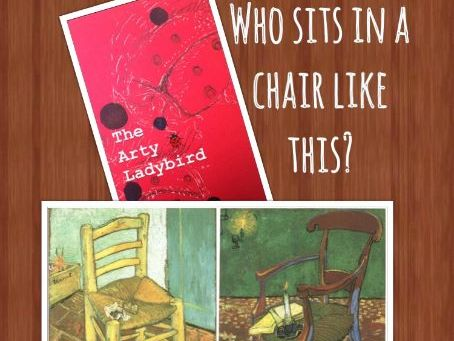 Vincent Van Gogh & Paul Gauguin Chairs Who sits in a chair like this?