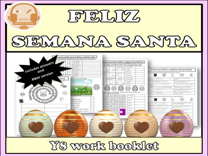Semana Santa Easter in Spanish Y8
