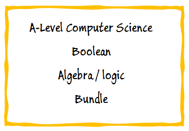 Boolean Algebra/Logic Bundle