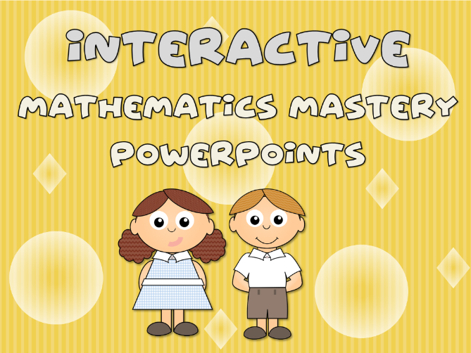 5 Weeks Mastery  interactive Mathematics PowerPoints and resources – Reception, Weeks 2-6