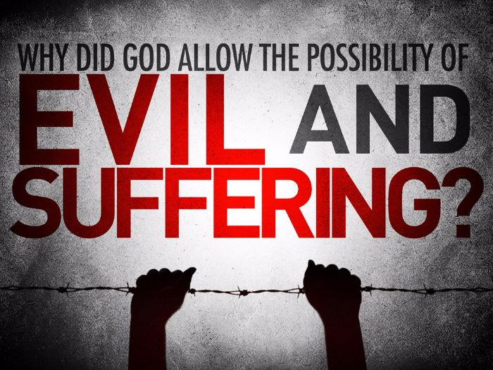 Presentation on Evil and Suffering (A Level Edexcel Religious Studies)