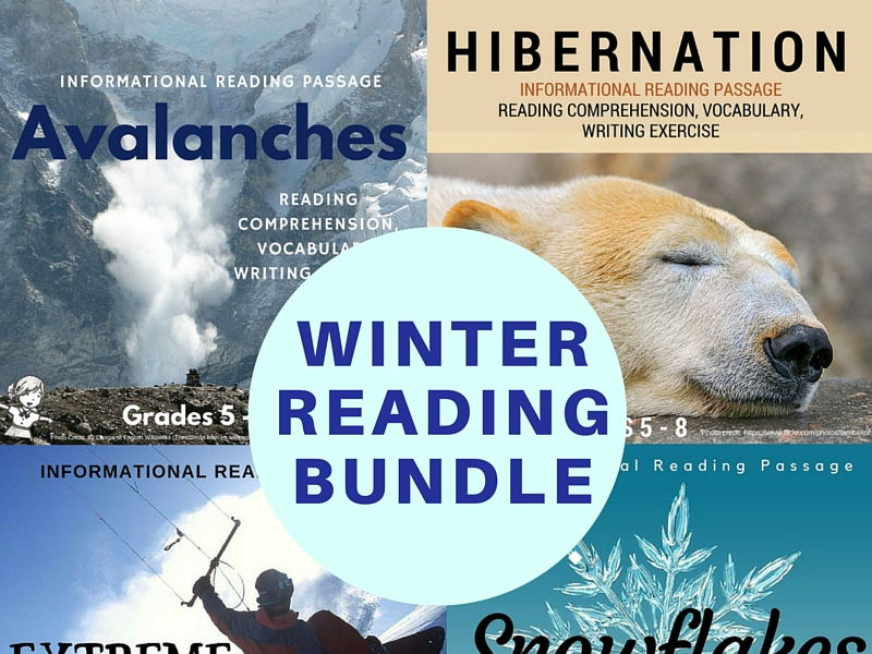 Winter Informational Reading Bundle