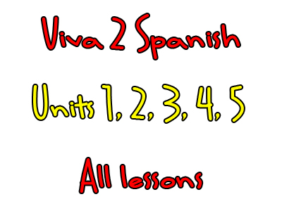 Viva 2 - Year 8 - All Units - All Lessons