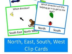 Compass Points Directions Geography Map Skills, Autism, SEND