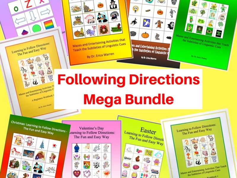 Following Directions Mega Bundle