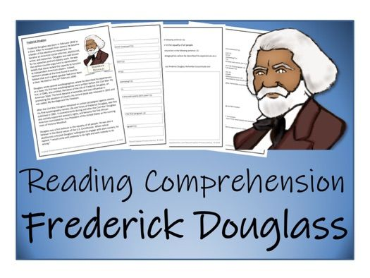 UKS2 History - Frederick Douglass Reading Comprehension Activity