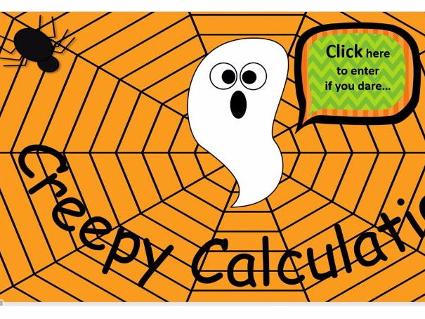 Halloween Maths Quiz KS1