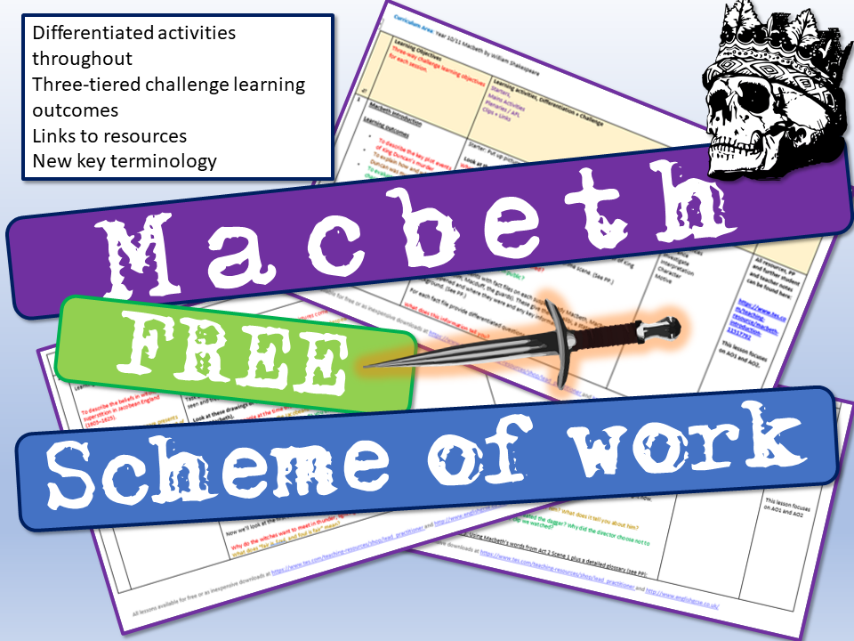 Macbeth Scheme of Work by Lead_Practitioner | Teaching Resources