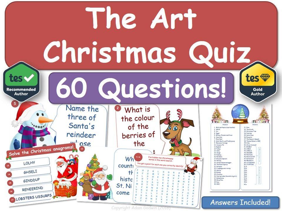 Art Christmas Quiz!