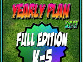 PE Yearly Plan 5 K-5 Full Edition