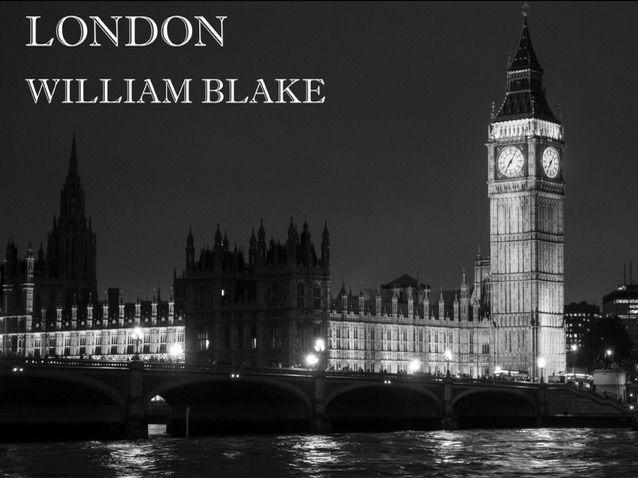 London -Power & Conflict- AQA Literature Poetry New Spec