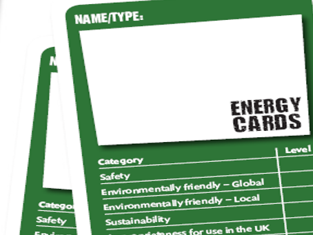 Energy card game