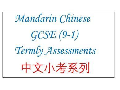 GCSE Mandarin Test- Topic 3-Jobs- for listening, reading, translation and writing