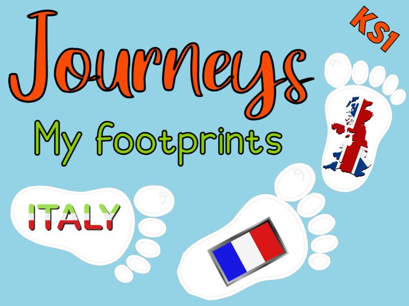 Journeys 'My footprints' KS1