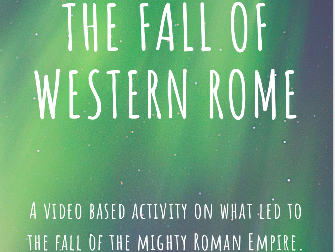 The Fall of Rome Packet