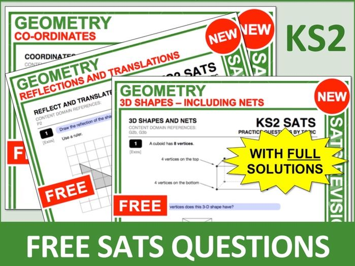 KS2 Maths Bundle (Geometry)