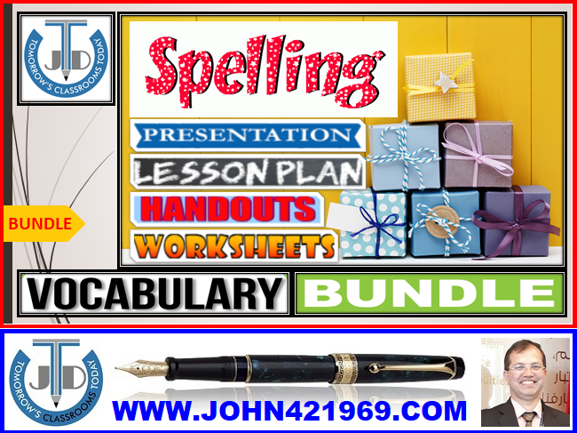 SPELLINGS: BUNDLE