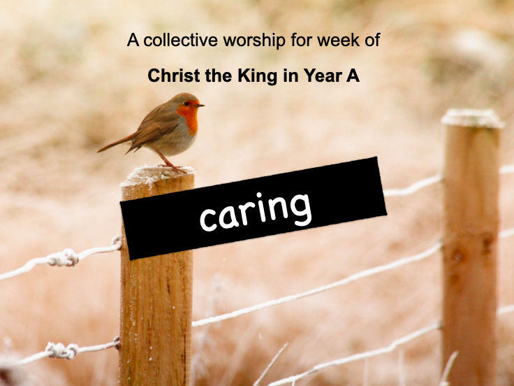collective worship Catholic Christ the King