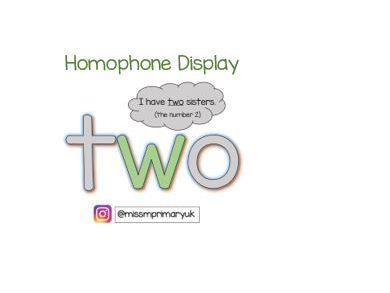 Homophone Display