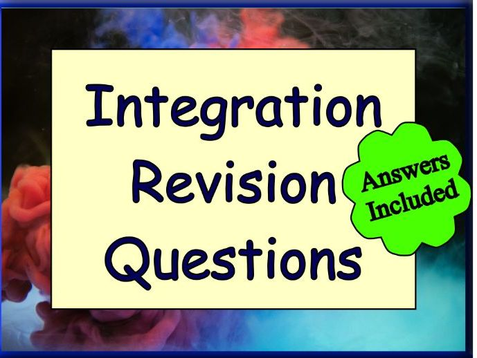 Integration Revision Questions
