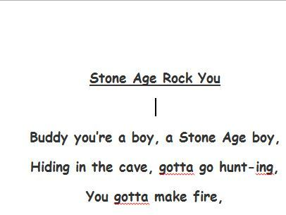Stone Age Rock You (Song)