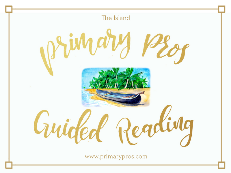 Year 3 & 4 Guided Reading Text - The Island