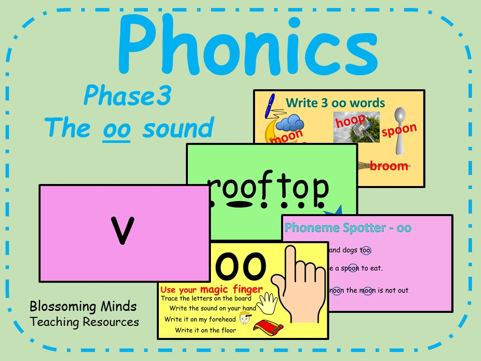 Phonics Phase 3 - The 'oo' sound