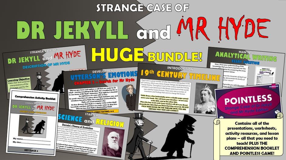 Dr Jekyll and Mr Hyde Huge Bundle!