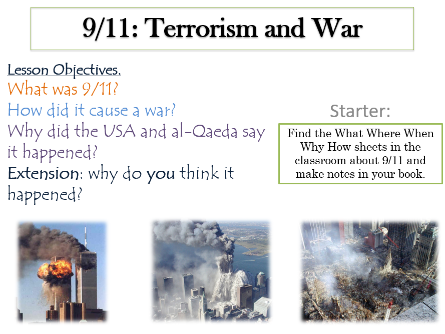 9.11, Terrorism, War and Peace