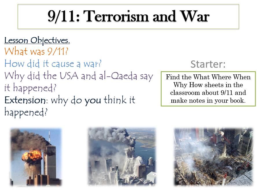 9.11, Terrorism, War and Peace