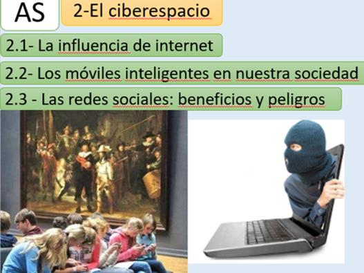 """""""El ciberespacio""""   New AQA A Level"""