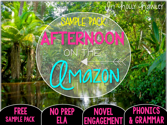 Afternoon on the Amazon NO PREP (ELA) SAMPLE