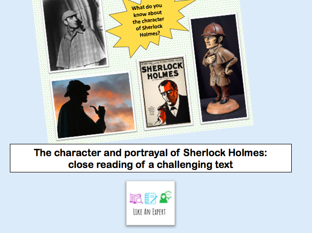 Sherlock Holmes and the solitary cyclist - close reading lesson