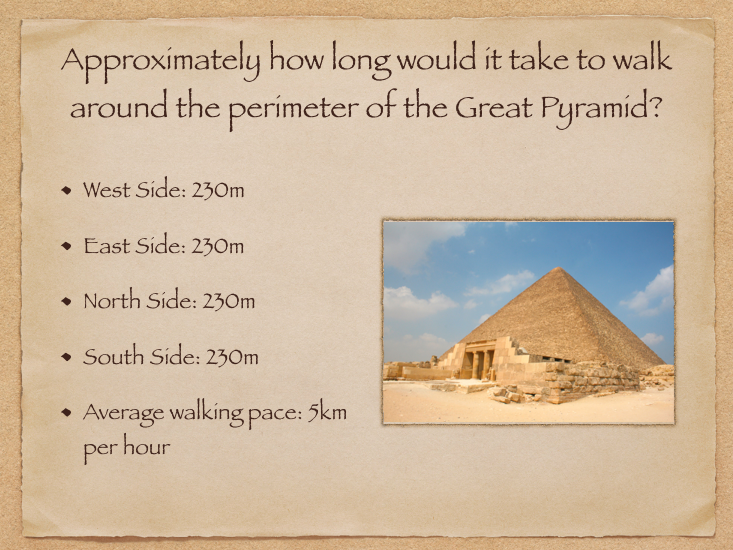 Ancient Egypt/Rome Numeracy Starter