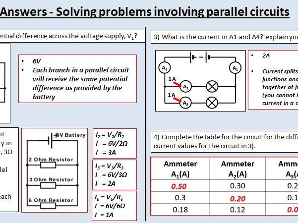 (GCSE BUNDLE 4.2) AQA Physics - Electricity