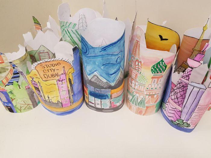 Kate Lycett inspired lanterns