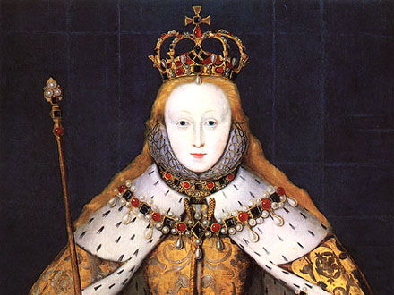 What problems faced Elizabeth I in 1558