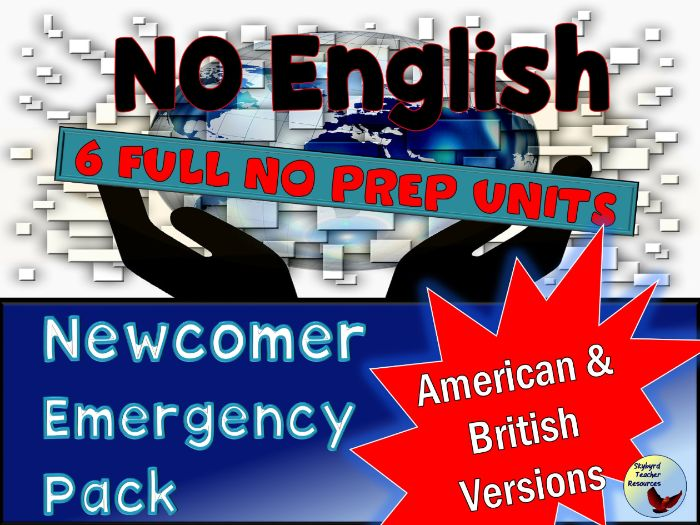 ENGLISH Language Newcomer Pack 1
