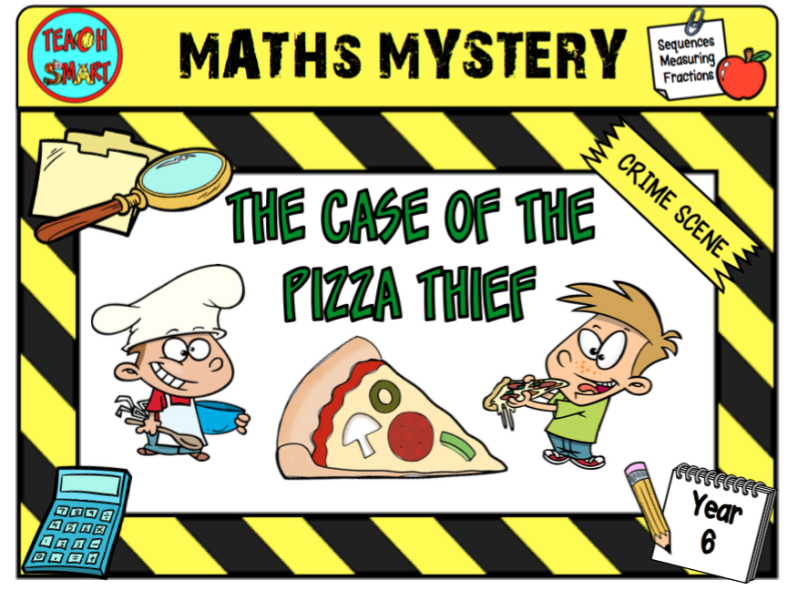 The Case of the Pizza Thief Year 6 Maths Mystery