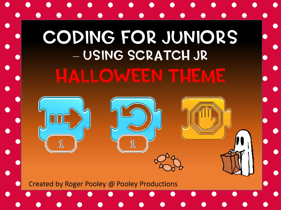 Halloween Coding for Juniors – Using Scratch Jr