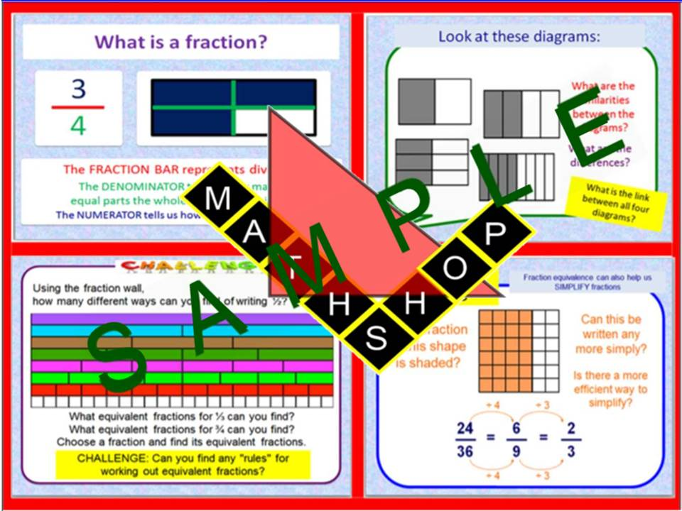 Fraction -  Equivalent Fractions