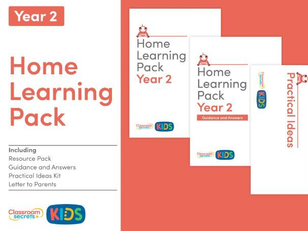 FREE Home Learning Pack for Year 2