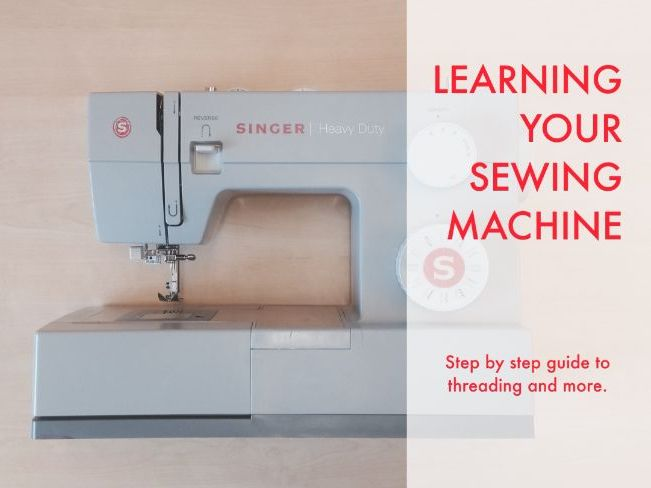 Teaching Textiles : Learning Your Sewing Machine