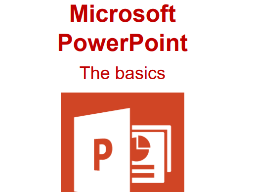 How to use Microsoft Powerpoint - The basics