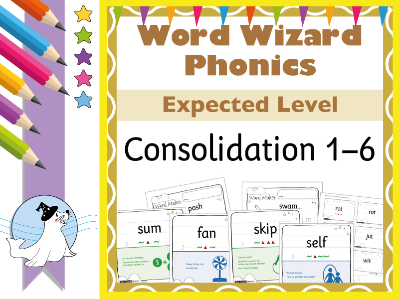 Word Wizard Phonics Extended Consolidation 1–6