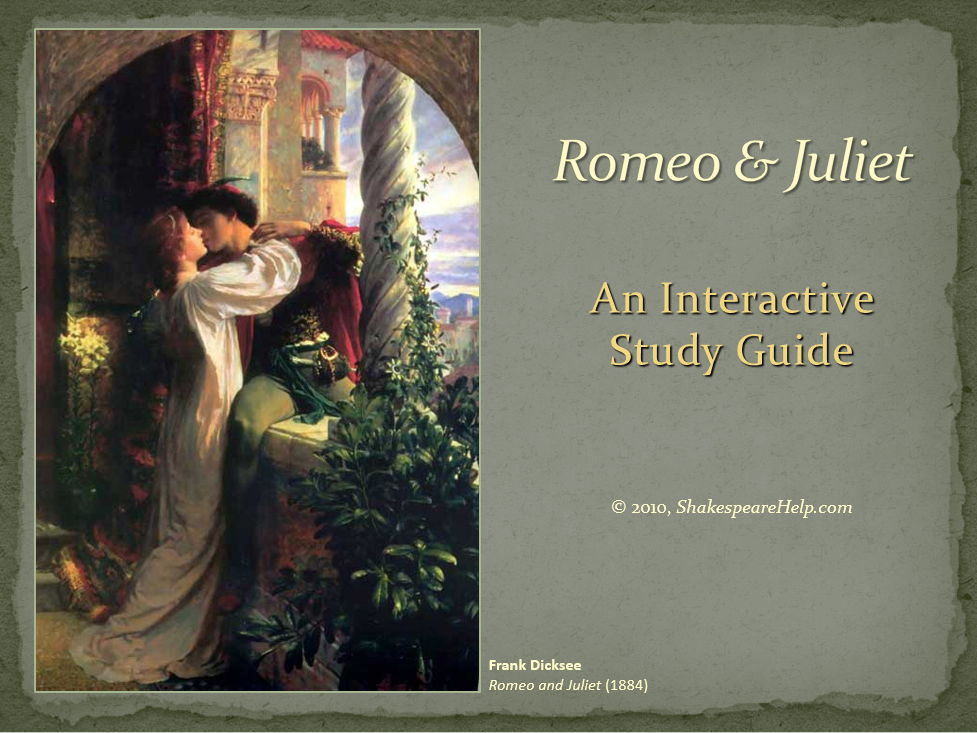 Romeo and Juliet PowerPoint Presentation