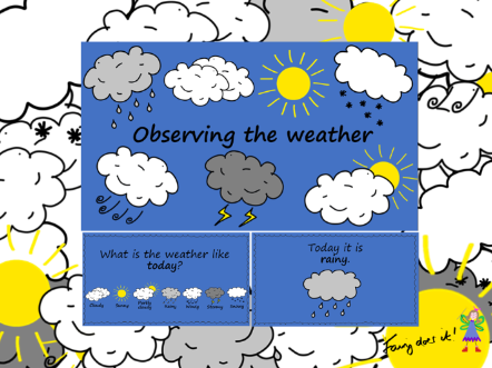 Observing the Weather Interactive PowerPoint