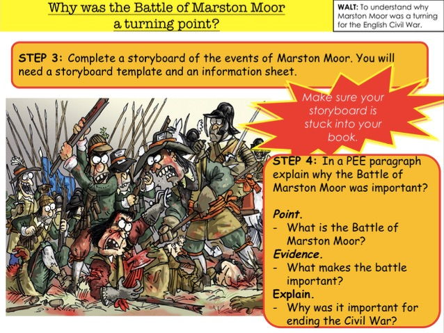 English Civil War Why was the Battle of Marston Moor  a turning point?