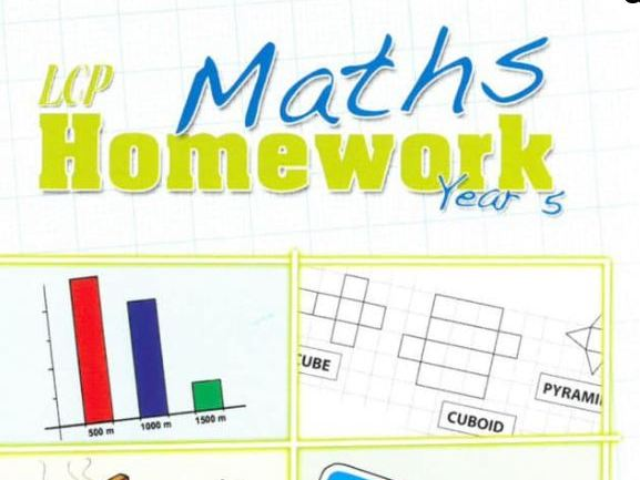 Year 5 Maths Home Learning (56 sheets) includes Answers and Parental Guidance
