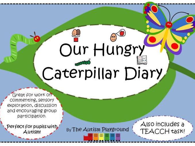 The Very Hungry Caterpillar Diary Activity